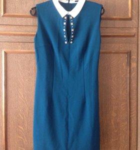 Платье с воротничком lime