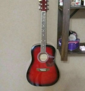 Шестиструнная гитара.