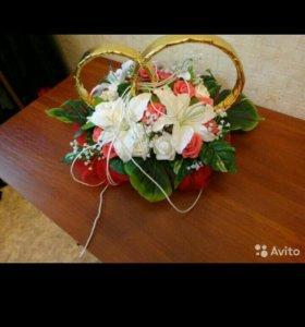 Свадебное украшение на кортеж