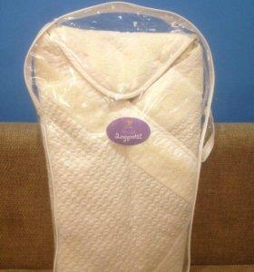 Одеяло-конверт зимний (новый в упаковке)