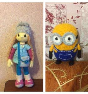 Миньон Боб , кукла