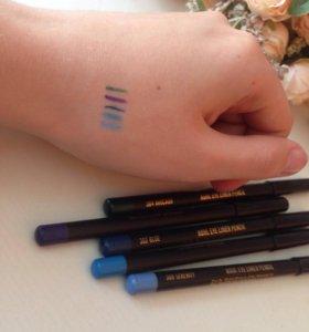 Яркие карандаши для глаз