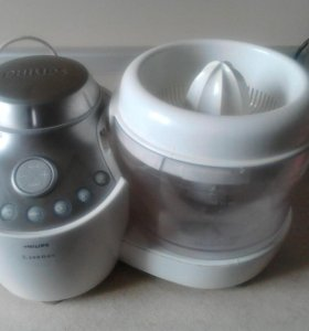 Кухонный комбайн Philips 10 насадок и море функций