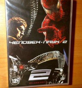 Фильм Человек-Паук2 на DVD