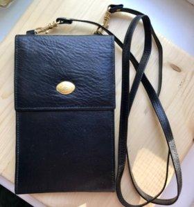 Портмоне сумка Кожа