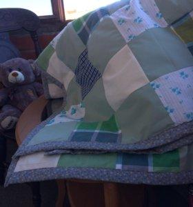 Лоскутное одеяло( покрывало) новое)))