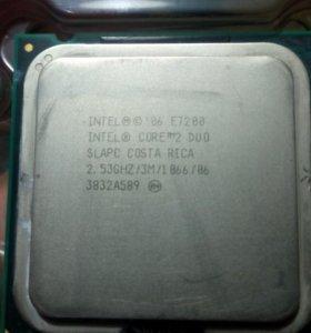 Процессор Intel core 2duo e7200
