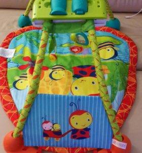 Развивающий музыкальный коврик для малышей.