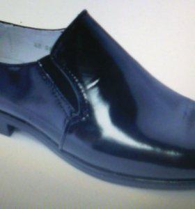 Туфли-полуботинки форменные