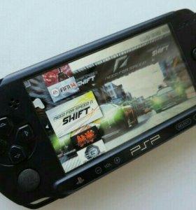 Улетная приставка PSP и 12 игр Последняя прошивка,