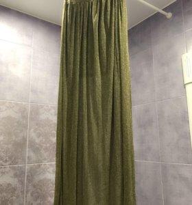 Новая юбка с люрексом