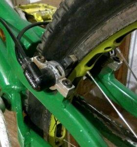 """Триал велосипед на раме bionic b1 26"""""""