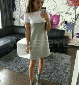 Спортивное платье 44р