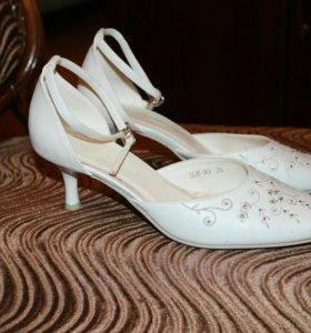 Свадебные туфли р. 36,5