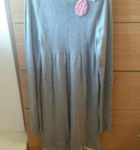 Шерстяной платье