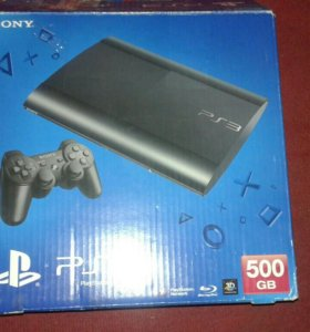PlayStation 3 Super Slim 500 гарантия 1 год
