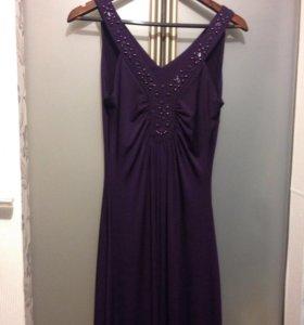 Платье-сарафан вечерний.