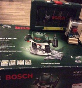 Фрезерный станок Bosch POF 1200 AE с набором фрез