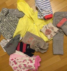 Фирменная одежда для девочки пакетом