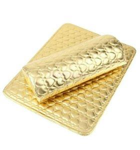 Маникюрный подлокотник- набор, золотого цвета