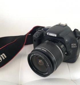 Цифровой зеркальный фотоаппарат Canon 550D