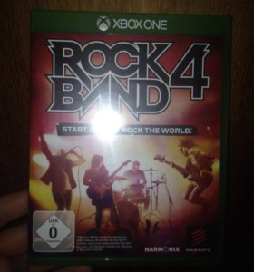 Rock band 4  Xbox one с гитарой