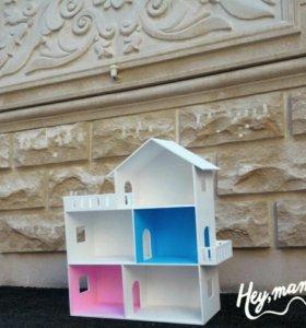 Деревянный детский домик Barbei