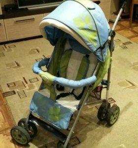 Прогулочная коляска- трость для мальчика