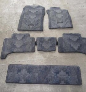 Комплект ковриков на ТЛК Прадо