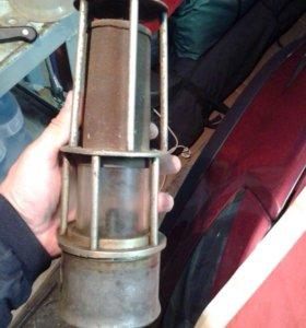 Старинная шахтёрская лампа- начало 20 века.
