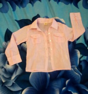 Рубашка-блузка на 4-5 лет