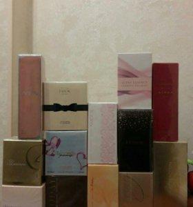 Новые парфюмерные ароматы Avon и Орифлейм