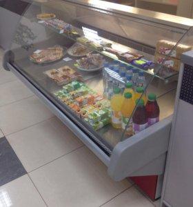 Холодильная ларь витрина вместительная