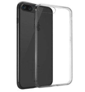 Силиконовый чехол Iphone 7 plus
