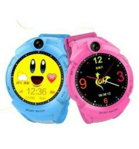 Детские часы Smart Baby Watch G51 с камерой