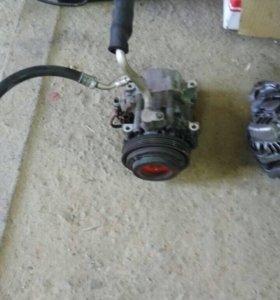 Компрессор кондиционера Subaru Impreza