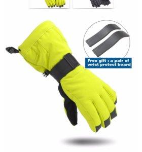 Перчатки горнолыжные (новые), женские или детские