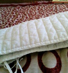 Бортик на кровать