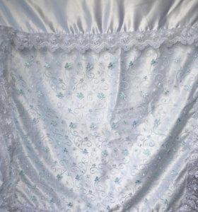 Конверт-одеяло зимний на выписку.