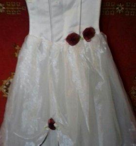 Платье на выпускной для юной принцесски