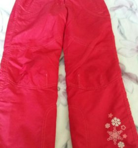 Непромокаемые штаны весна-осень