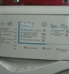 Б/у стиральная машина Indesid