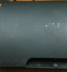 Ps3 slim  с игрой GTA 5