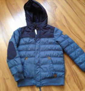 Куртка на холодную осень 152 рост
