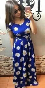 Платье, имеются расцветки