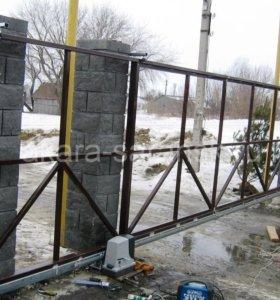 Изготовление ворот.