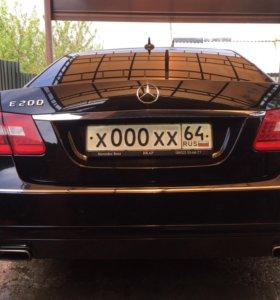 Mercedes benz E200 2012
