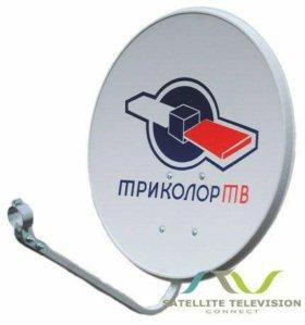 Настройка спутниковых тарелок  Триколор тв