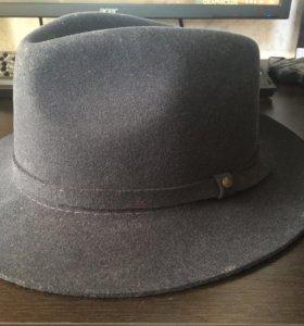 Фетровая шляпа мужская