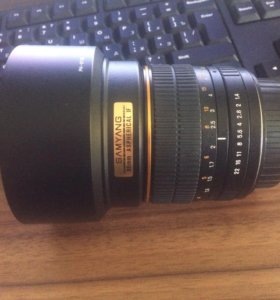 Samyang 85mm 1,4 AS IF UMC for Canon